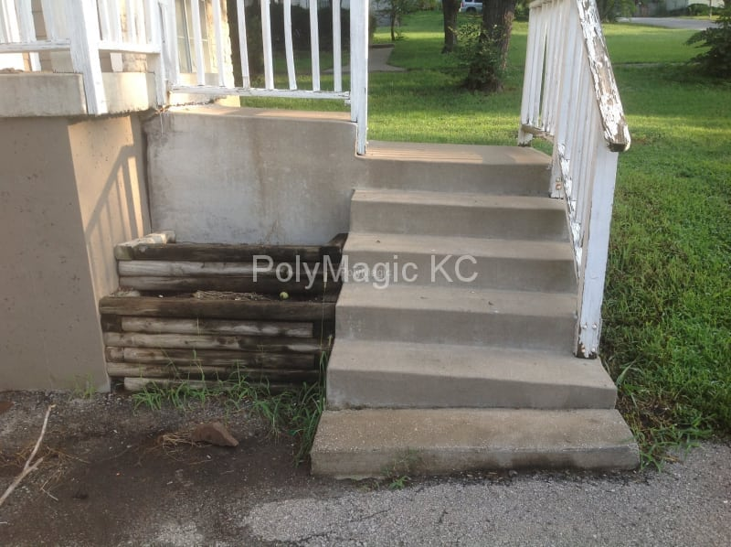 Concrete Stairs - Before