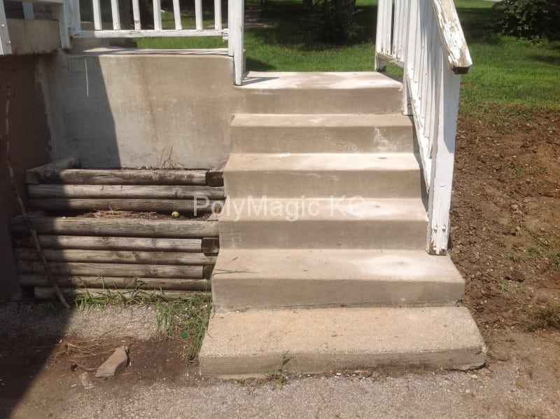 Concrete Stairs - After