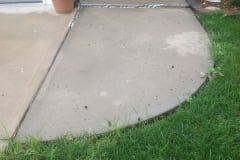 Concrete Sidewalk - Before