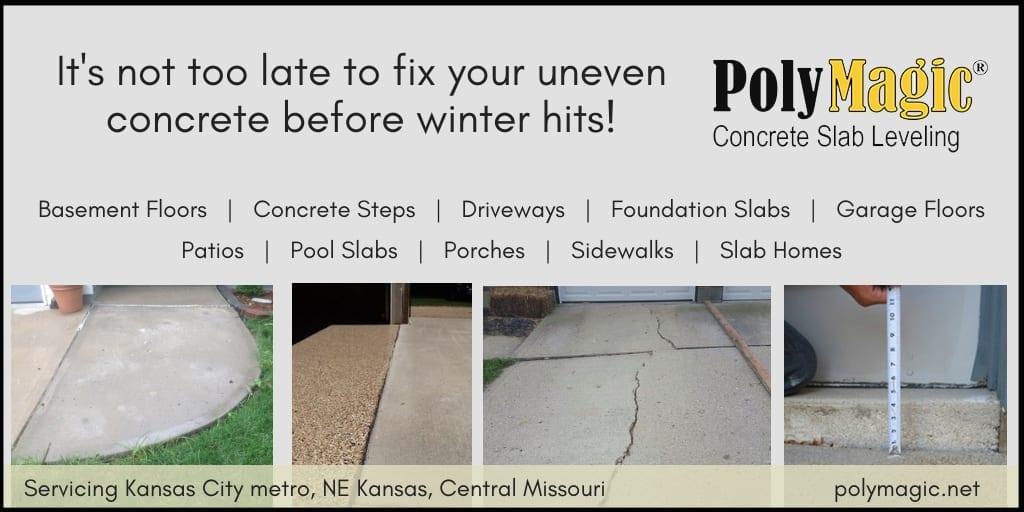 Repair Your Concrete Before Winter Hits