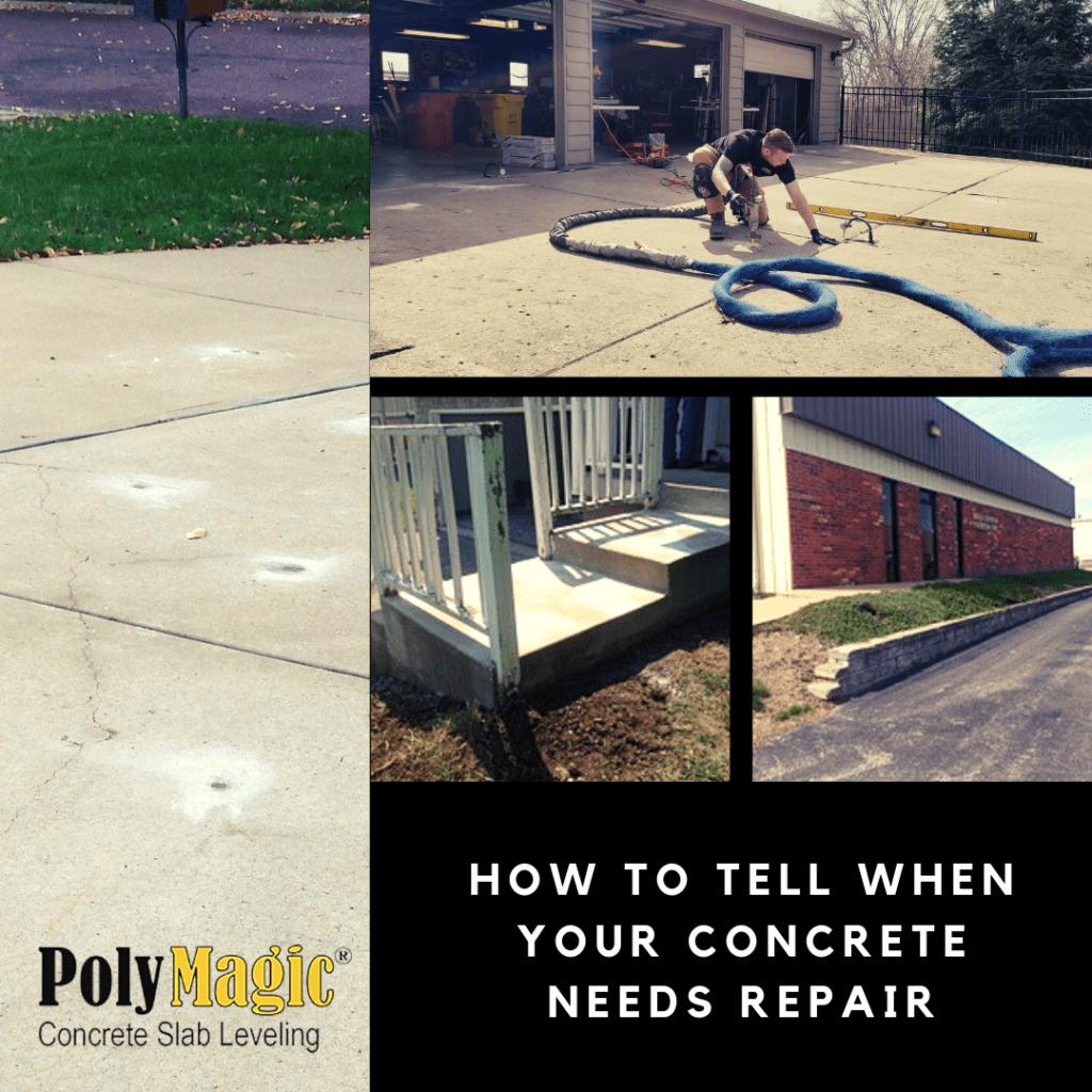 How to Tell When Your Concrete Needs Repair