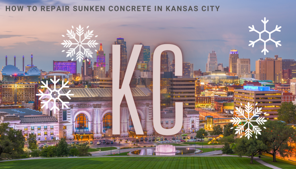 How to Repair Sunken Concrete in Kansas City